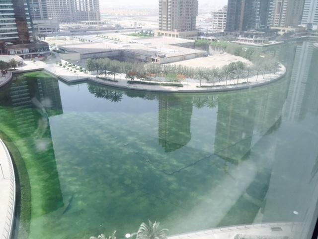 Semi fitted Office with full Lake View, Pantry and Toilet next to JLT Metro Station @ 76 K  –  AED 76,000 /yr