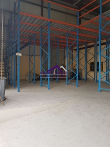 DIP Warehouse with Built in Racking, Office, Pantry & Washroom for rent for AED 170K/Yr
